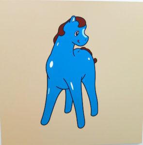 pony-blue